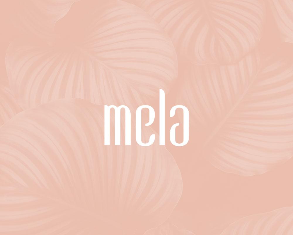 mela – Logokonzept