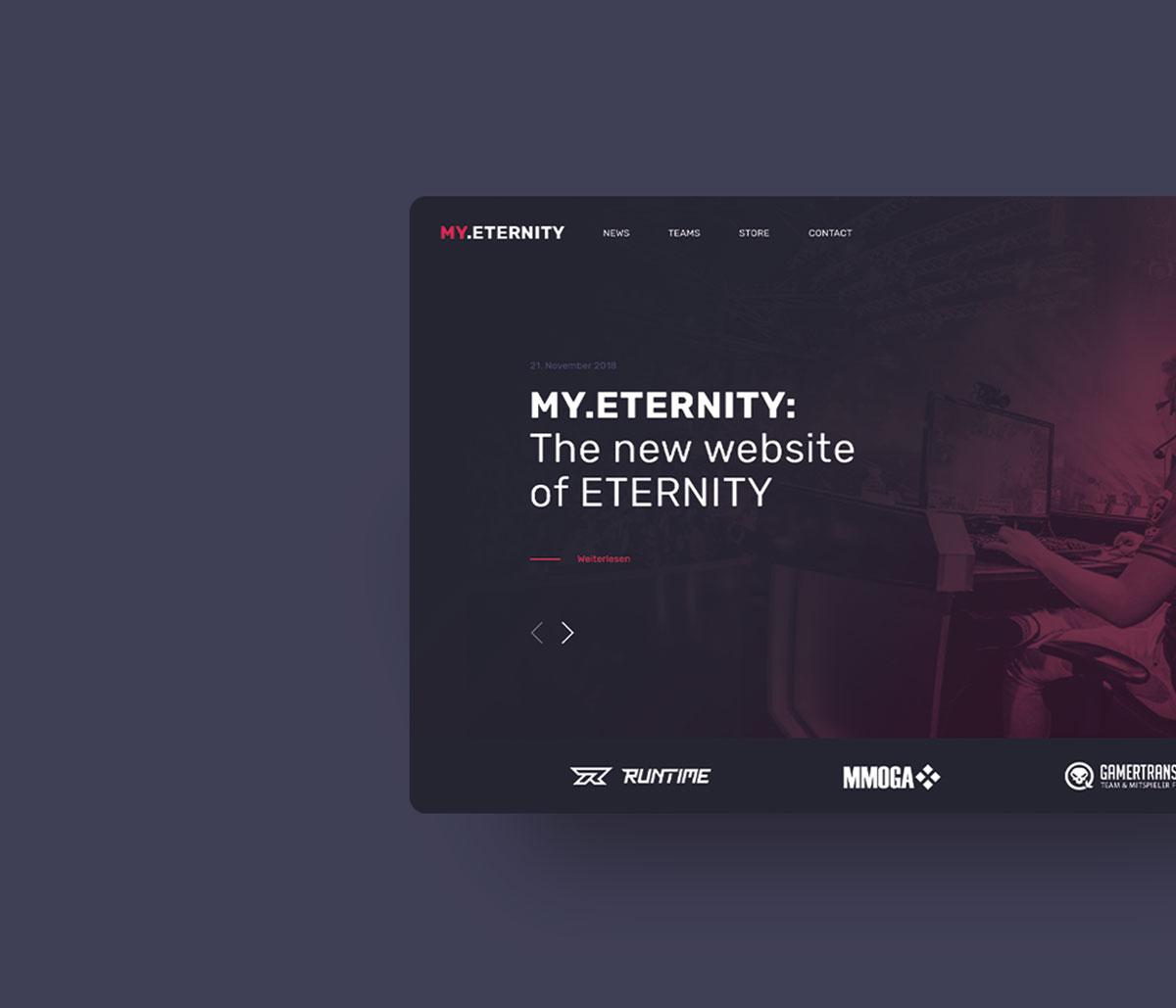 my.eternity – Webseite