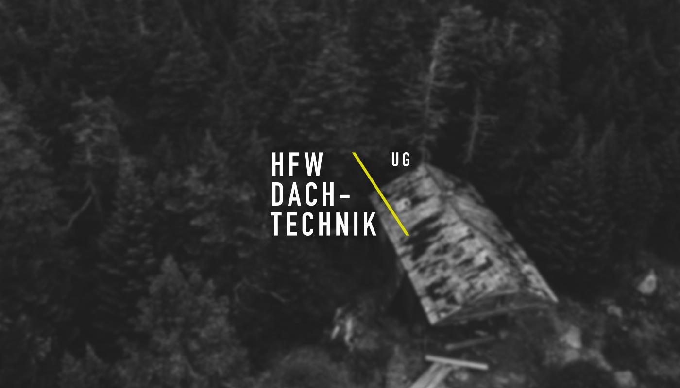 HFW Dachtechnik – Branding