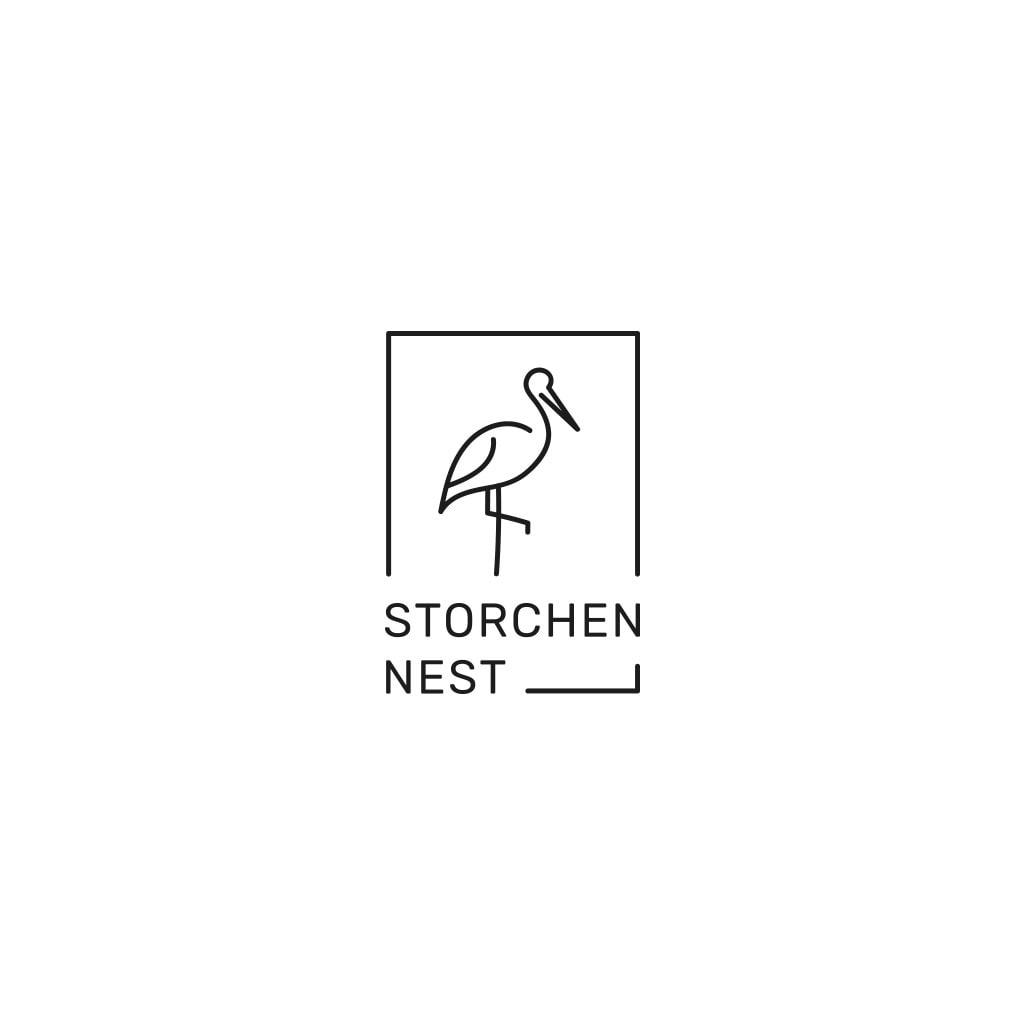 Storchennest – Logokonzept