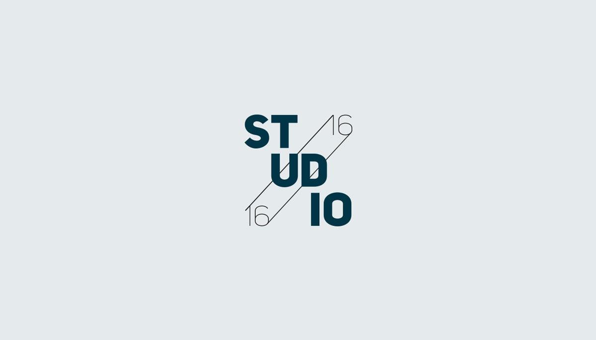 Studio 1616 – Logokonzept